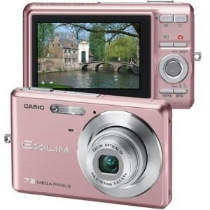 Casio 7.2 Mp Slim Digital Camera Pnk