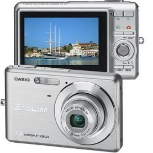 Casio 7.2 Mp Slim Digital Camera Slv