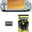 Sony Psp Slim Value Bundle - 21 Games And 32mb Memory Card (silver)