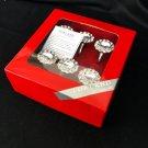 Porland Style Napkin Ring Set