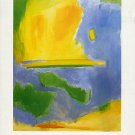 ESTEBAN VICENTE Paintings Abstract Expressionism Minimalism Exhibition Ephemera
