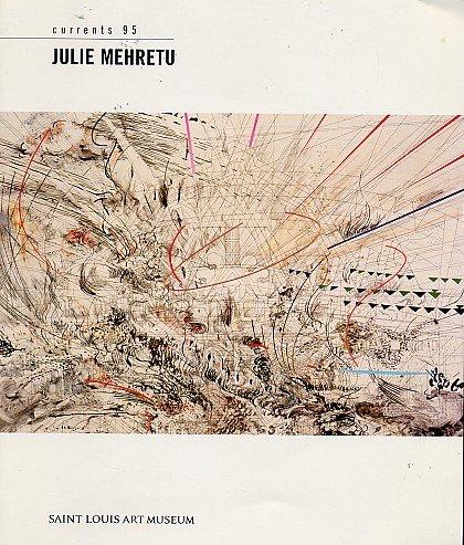 JULIE MEHRETU African ART Contemporary Artist Africa Painting Exhibition Ephemera