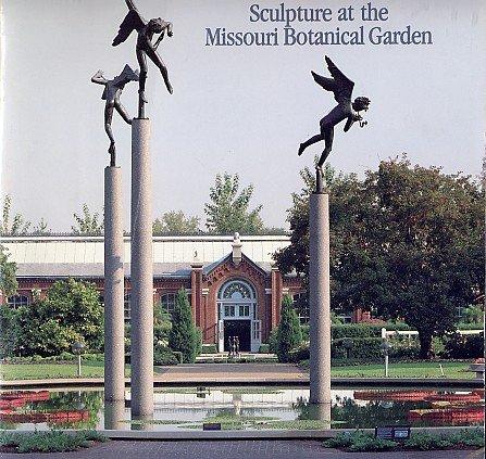 Sculpture Trova Calder Moore Milles Missouri Botanical Gardens St. Louis ART Book