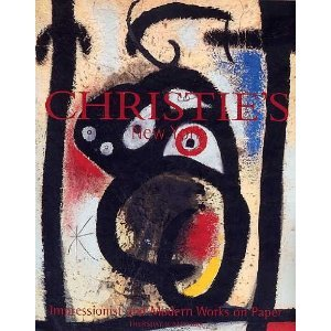 Impressionism Modern ART Christie's Auction Catalog