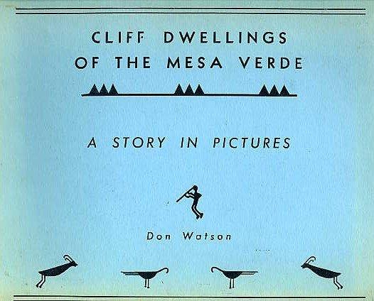 MESA VERDE CLIFF DWELLINGS Native American Indian Art Architecture Pueblos Anasazi