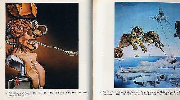 SURREALISM Salvador Dali Joan Miro BOOK Painting Sculpture Surreal Spanish Modern ART