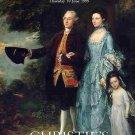British ART BOOK Chrisite's SANDBY van Dyck Millais Gainsborough ENGLAND