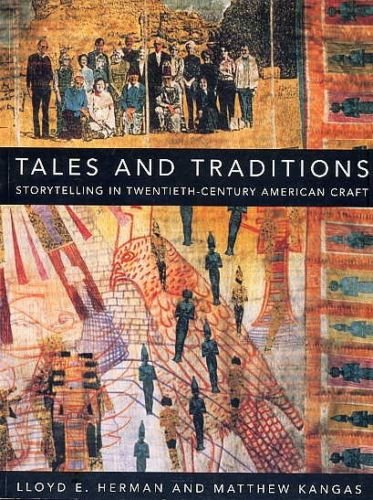 American Crafts ART BOOK Storytelling Robert Arneson Viola Frey Held GLASS Pottery Textiles Jewelry