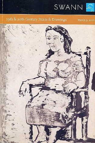 Modern Prints Drawings ART BOOK Auction Picasso CADMUS Miro Lampicka KENT Chagall BENTON Matisse ARP