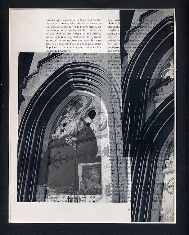 ORIGINAL ART Work Found Object  Photography Surrealism Gothic Architecture St. Louis