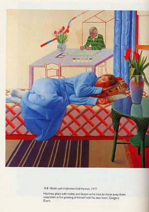 David Hockney ART BOOK British Pop Art Paintings Drawings Photography Portraits Nude Figures