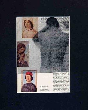 ORIGINAL ART Found Object Photography Male Nude Portraits Gay Coloured Surrealism Lippi