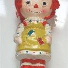 Vintage Raggedy Ann Anne Bank Figurine 1971