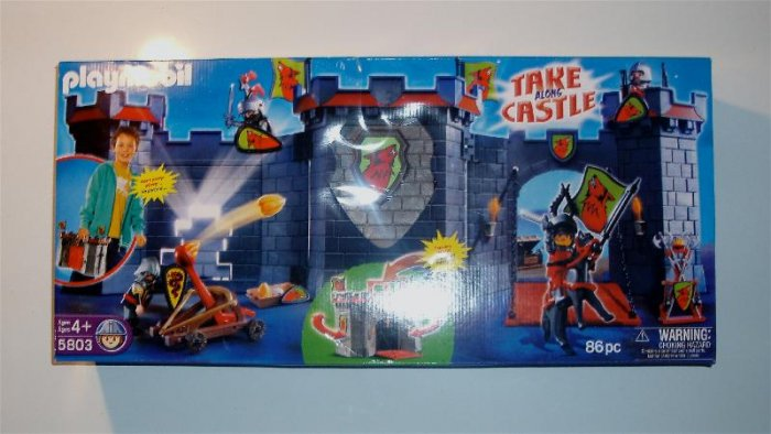 Playmobil Take Along 3 in 1 Castle!
