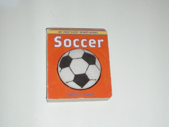 Baby Infant Toddler Sport Soccer Board Book