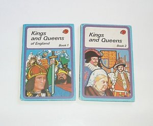 Kings and Queens of England book Ladybug lot EUC