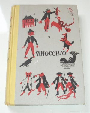 Pinnocchio Hard Back Childrens Reading Book 1955
