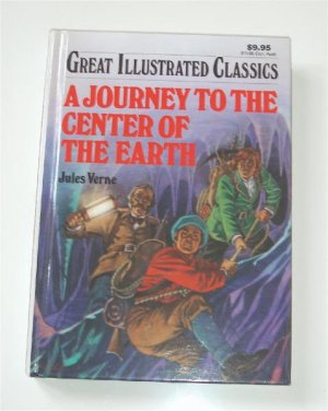 Journey to the Center of the Earth Jules Verne Book Illustrated