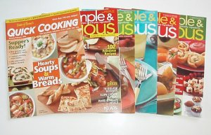 Taste Of Home Quick Cooking 2006 Complete year EUC