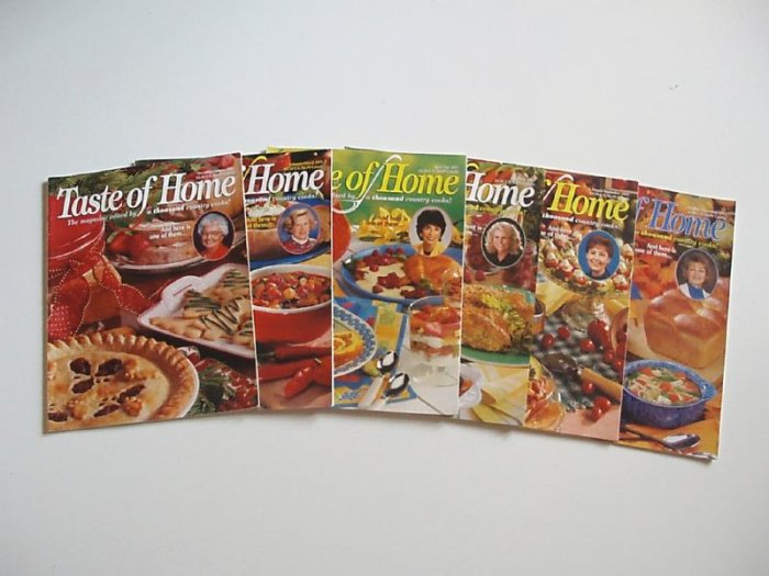 Taste Of Home 2001 Complete year EUC