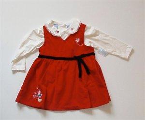 Disney Little Mermaid Christmas Dress Ariel 24 m NWT