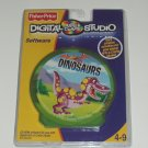 Fisher Price Digital Arts Crafts Studio Software Dinosaur