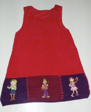 Groovy Girl Doll Girl Jumper dress 5 EUC Adorable!