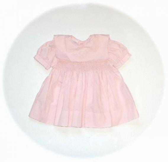 Baby Girl Pink Smocked Dress Bambellini 62 6m