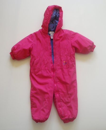 GYMBOREE Snow Suit Girl Infant toddler small
