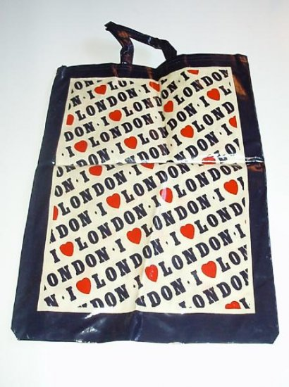 I love London England Tote Bag Used