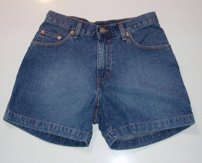 Guess Girls Junior Denim Jean Shorts 26 w EUC