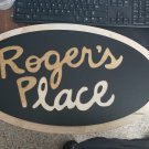 Roger's Place Wooden sign - American Dad