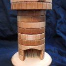 Handmade Wooden Dice Tower - Hard Maple