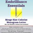 EMBRILLIANCE Essentials / Design Editing Software / Digitizing Software / Resizing Software
