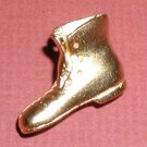 Realistic Goofy Shoe Boot Metal Button