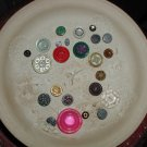 Vintage 24 Button Collection