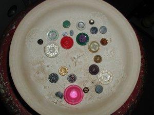 Vintage 24 Button Collection