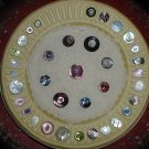 Vintage 35 Mother of Pearl Shell Button Collection