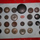 Antique 25 Composition Shellac Button Collection