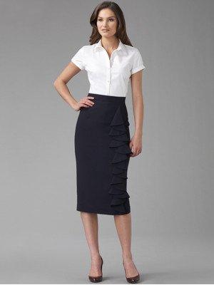 L.A.M.B. - Cascade skirt