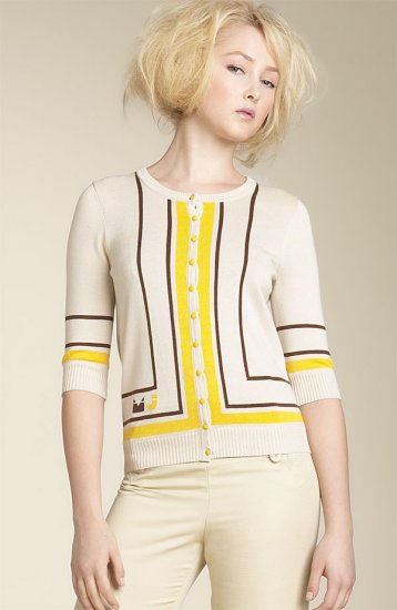 Marc by Marc Jacobs - Scarf Stripe Sweater