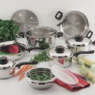 Foreverware 15pc 9-ply Stainless Steel Cookware Set
