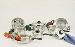Waterless Cookware Set