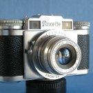 Vintage Braun Paxette with Roeschlein - Kreuznach Pointar C 2.8/45 · Nurnberg . Germany