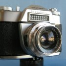 Vintage Voigtlander Bessamatic SLR Film Camera with Skoparex 3.4/35 Lens  · Made in Germany