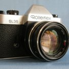 Rolleiflex SL35 (Singapore)  witn QBM Carl Zeiss Planar 1.4/50 HFT Made in Germany