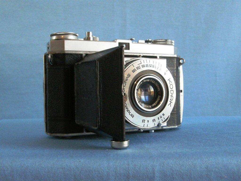 Kodak Retina Ia with Schneider Kreuznach Xenar 3.5/50 · 35mm filding camera · Made in Germany