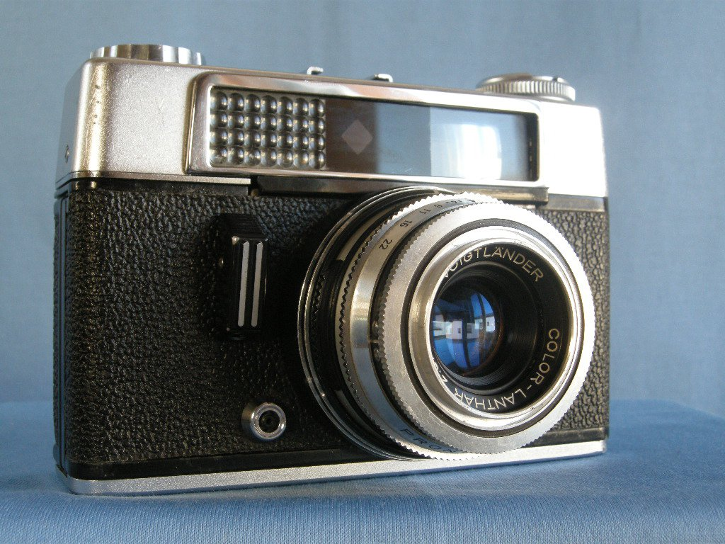 Vintage Rangefinder Voigtlander Vitoret DR with Color Lanthar 2.8/50  ·  Made in Germany