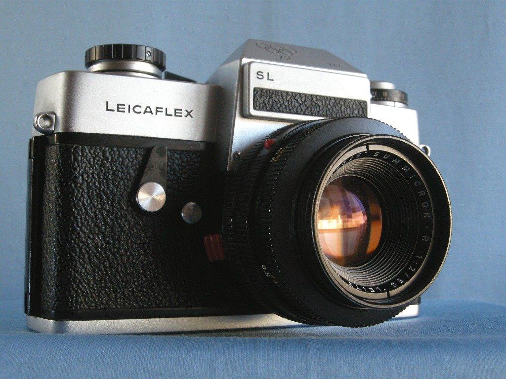 Leica Leicaflex SL  Munich Olympics 1972  w/ Leitz Summicron R 2/50  · Made in Germany