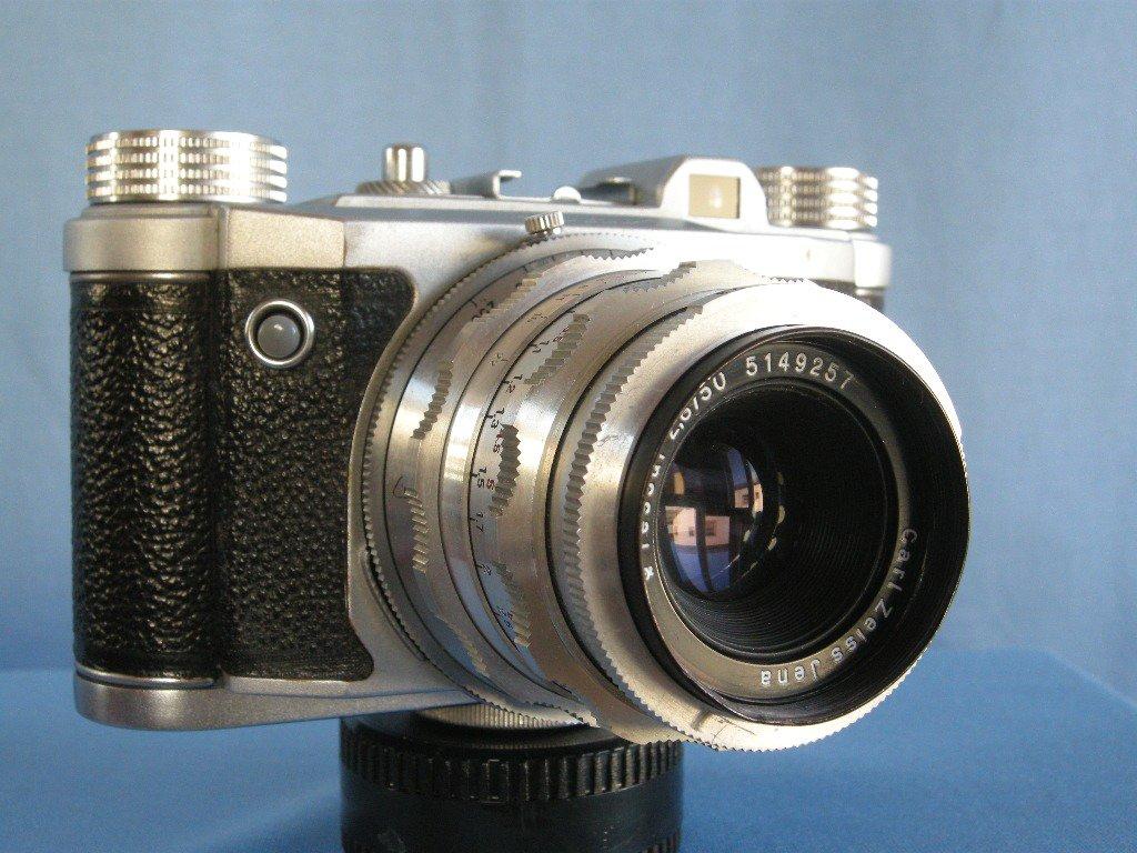 Vintage Altissa Altix V with Excellent Carl Zeiss Jena Tessar 2.8/50 · Made in Germany · ( DDR )